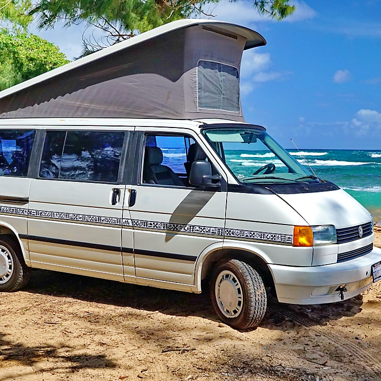 The pop-up was expanded by 2 feet from the prior Vanagon.