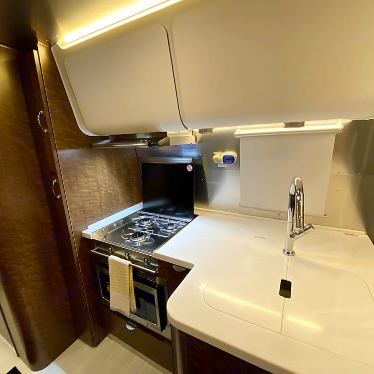galley and convection microwave