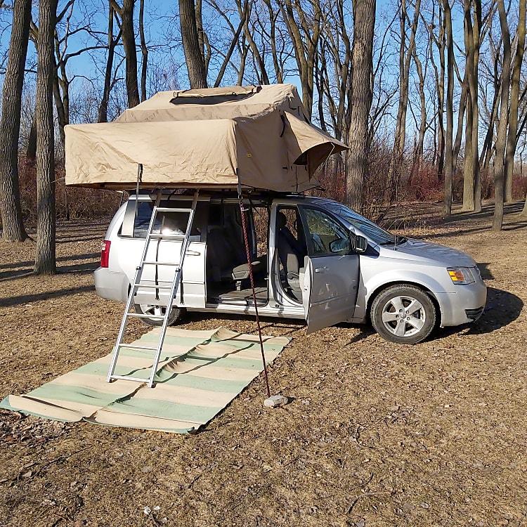 Camp where you park where you camp!