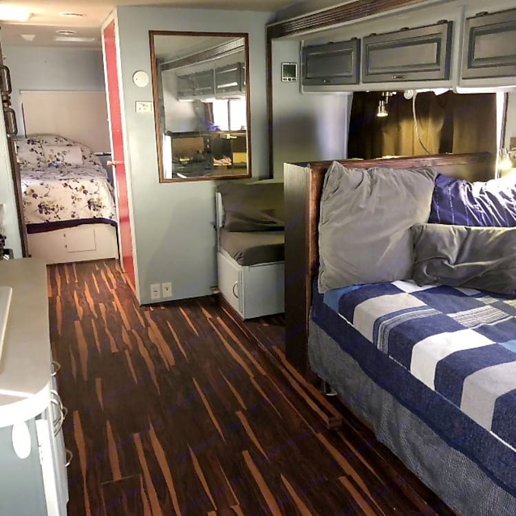 Actual real mattresses (not the uncomfortable ones that come standard in an RV)
