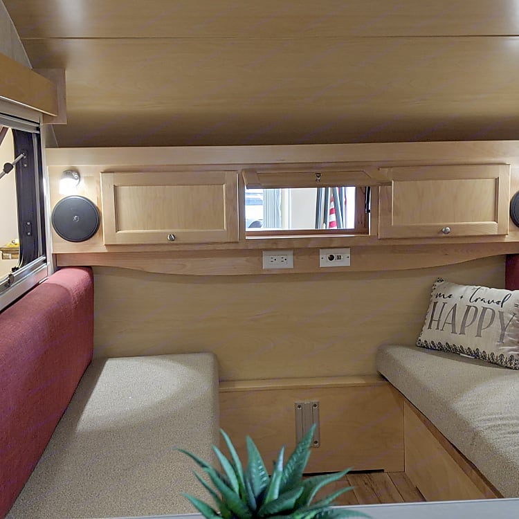 Roomy Interior with lots of windows