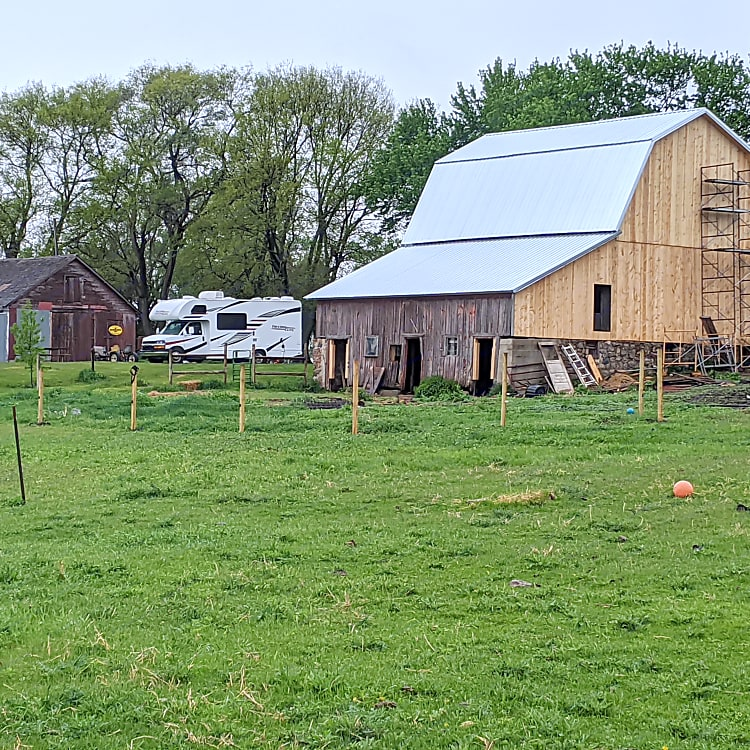 Hipcamp on a homestead
