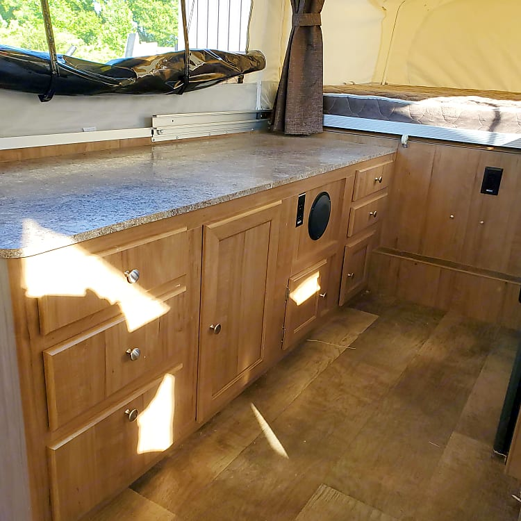Plenty of storage and counter space