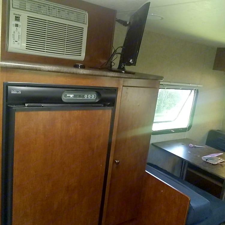 Refrigerator and A/C unit