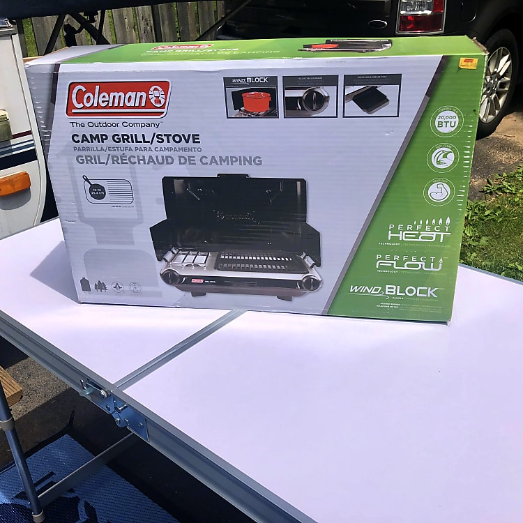 New Coleman stove/grill combo