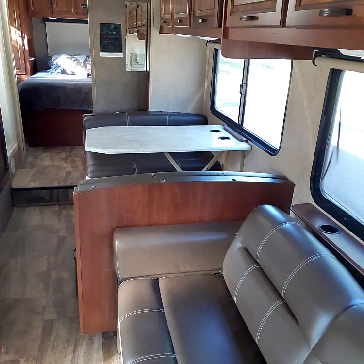 Pull out couch- kitchen table
