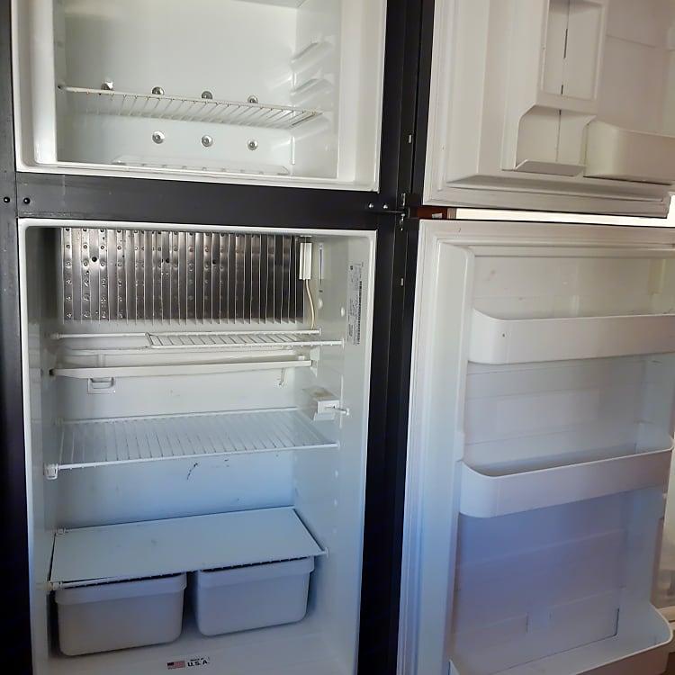 Spacious fridge