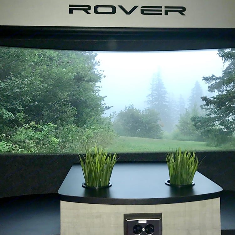 The Luna Rover makes waking up to the rain when camping a luxury