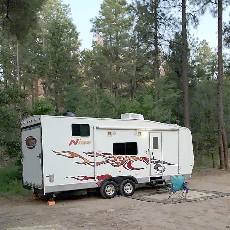Prescott forest campsite