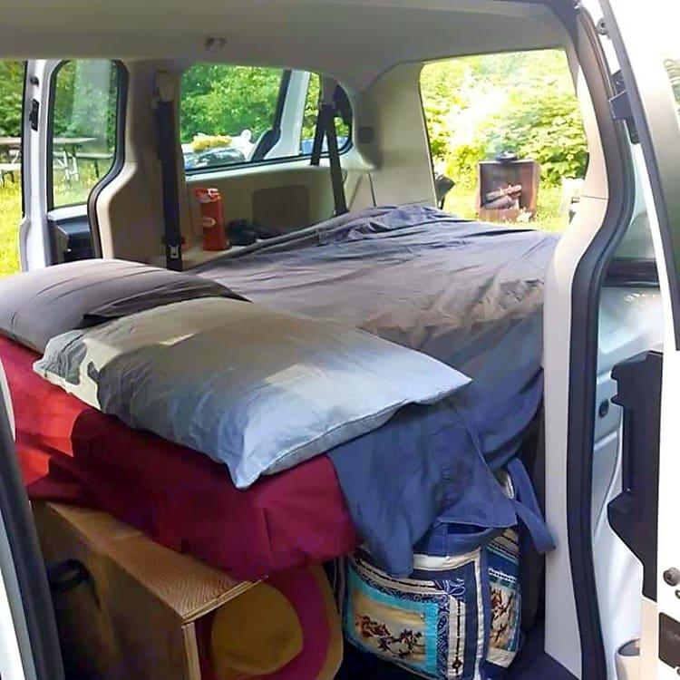 Cozy and plenty of storage.
