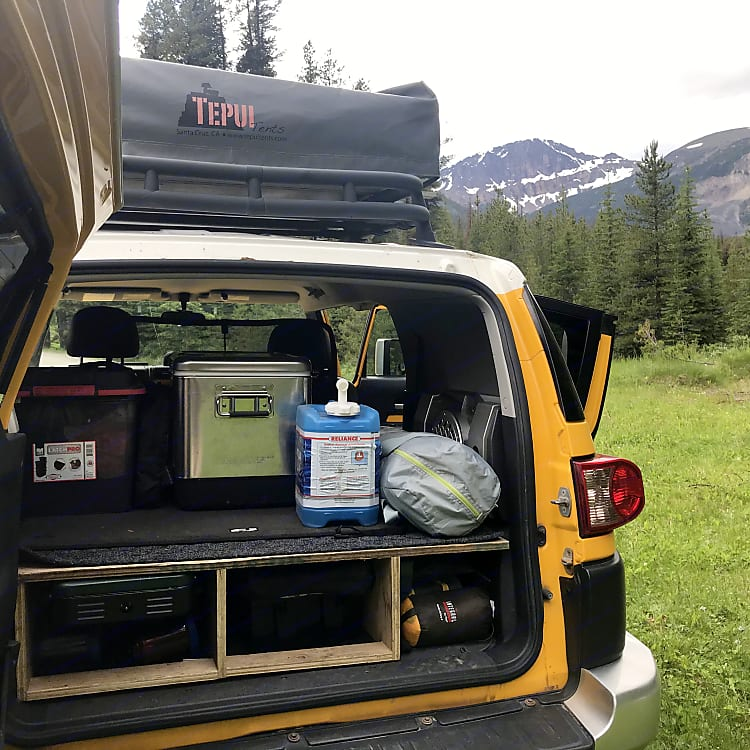 All gear easily accessible