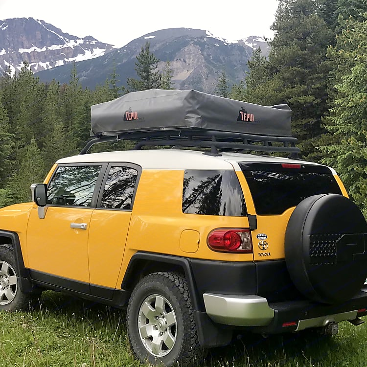 Tent safety secured for travel