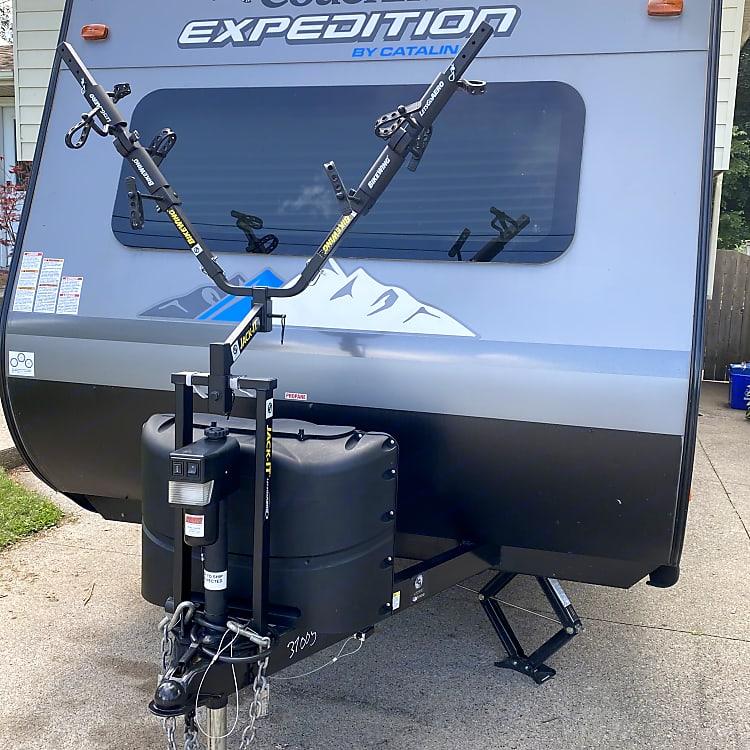 front mount bike rack