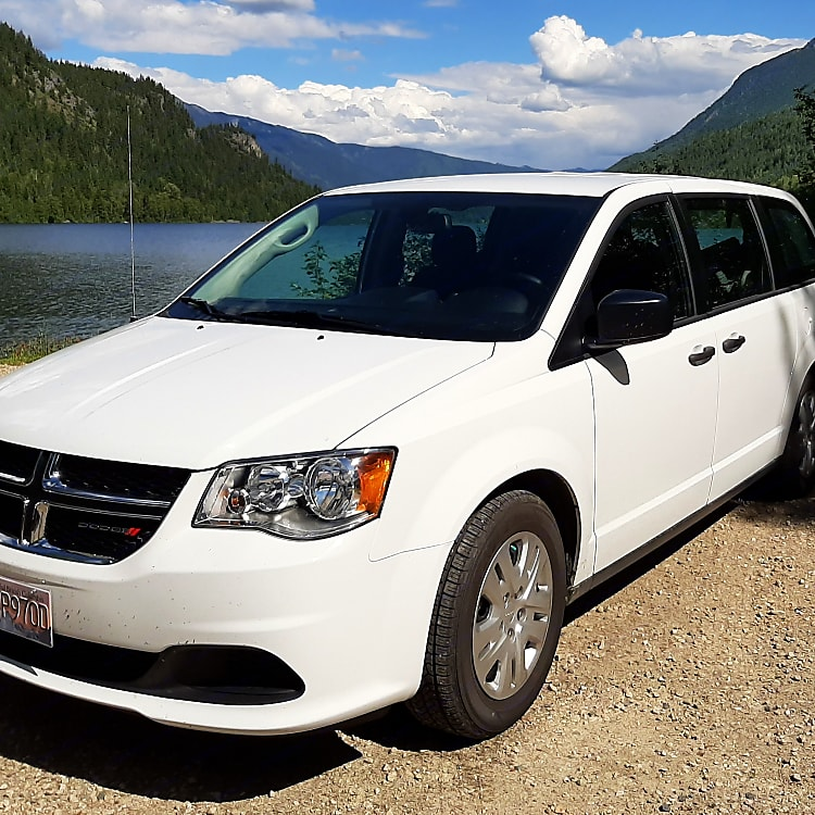 Our Canadian Value Package Dodge Grand Caravan is compact, really great on gas and easy to drive!
