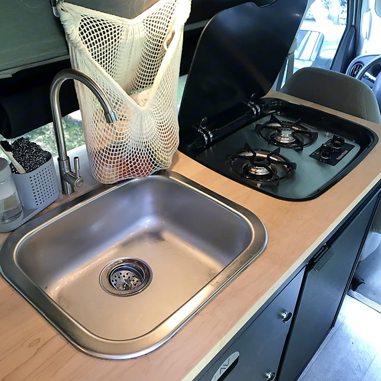 Comfortable space for cooking