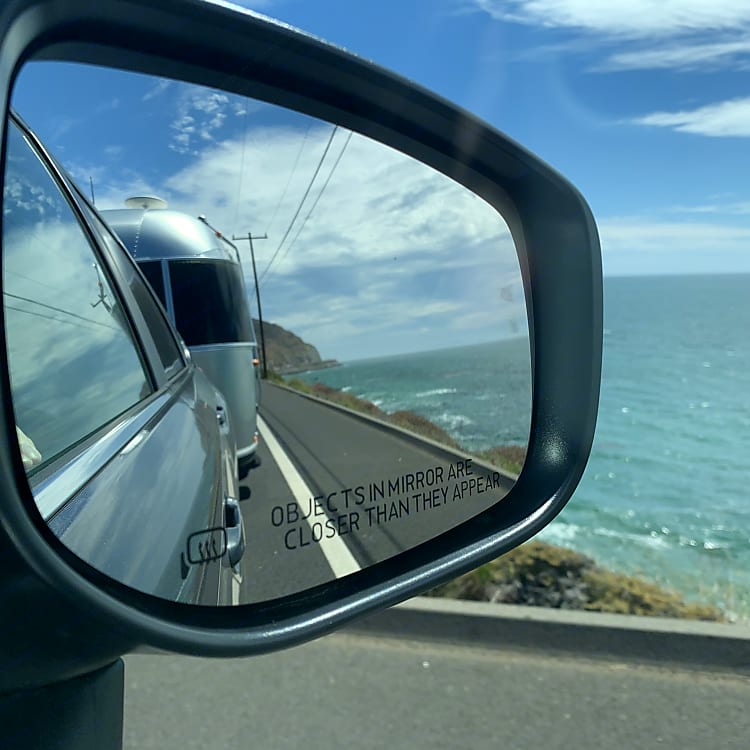 The view on HWY 1