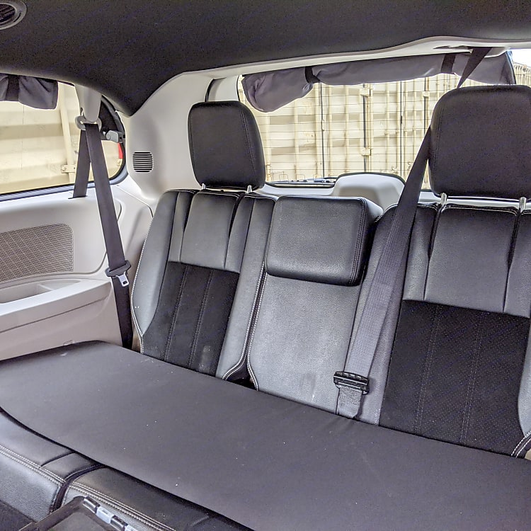 Seating and seatbelts for 5