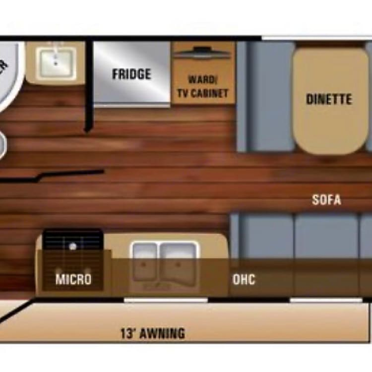 Floor-plan, sleeps 7 comfortably