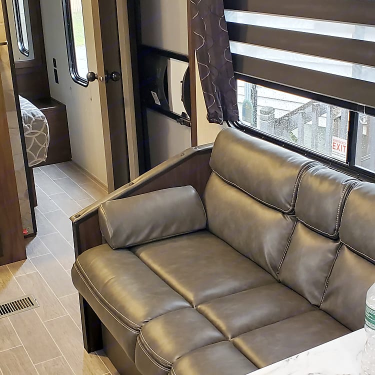seating area that converts for sleeping