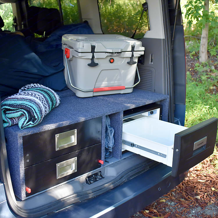 The Dometic CD-30 is roomy enough for most trips but a high efficiency cooler can be added on as well for more cold capacity.