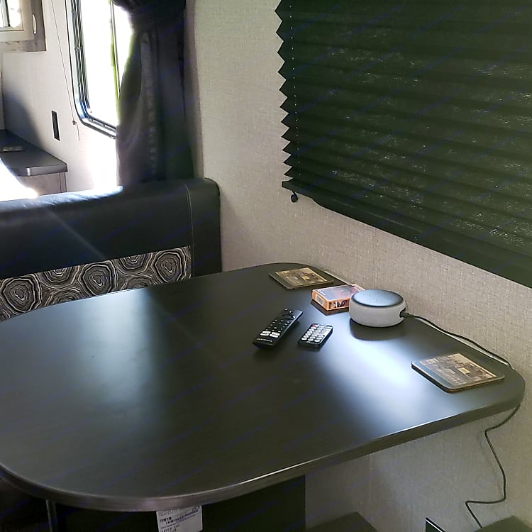 Dinette Area (Converts to Bed)