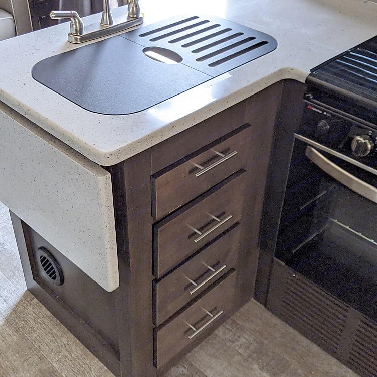 Storage under the sink