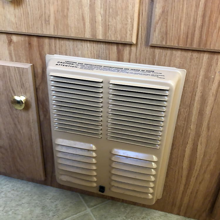 Toasty heater, great for cool fall nights or to burn off the morning dew.