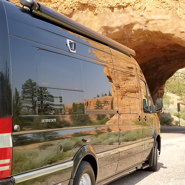 Red Canyon Natural Tunnel