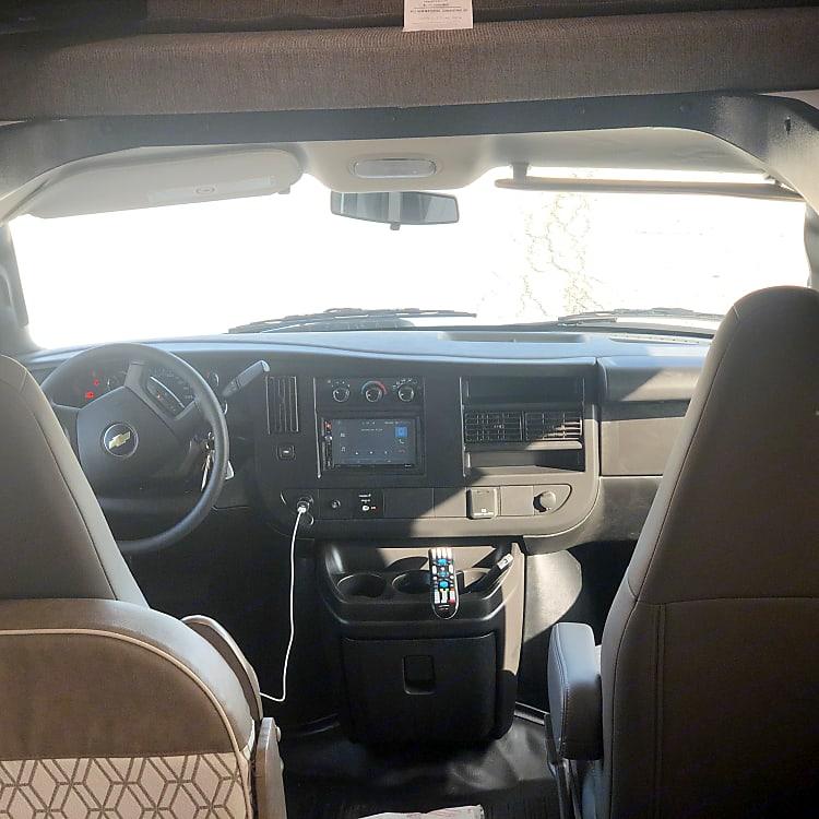 Driver Seat Area