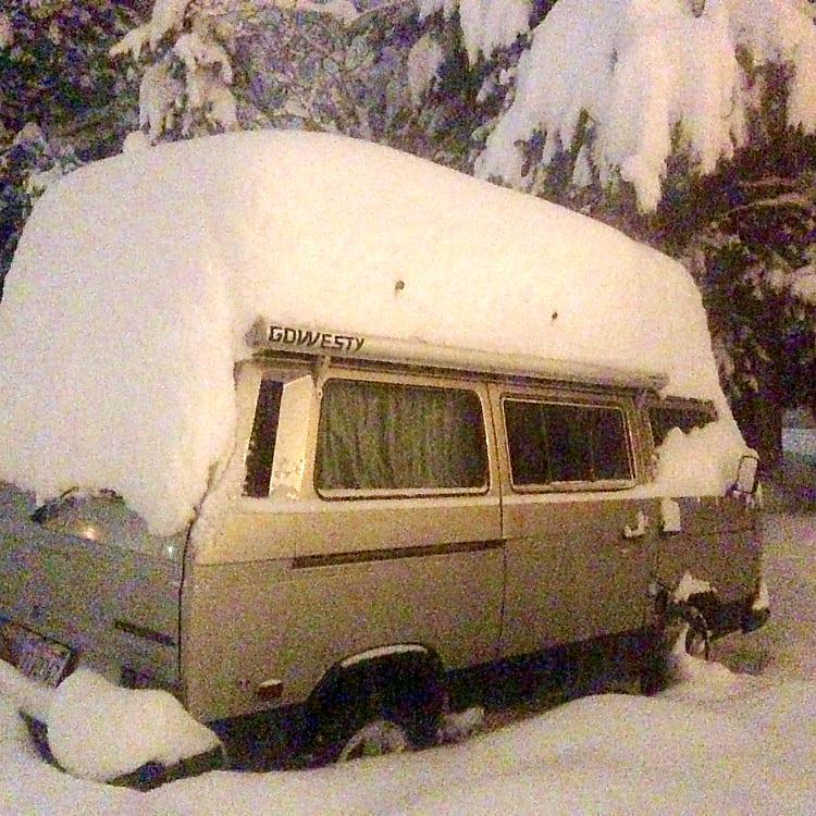 Winter Sprinter Van Conversion