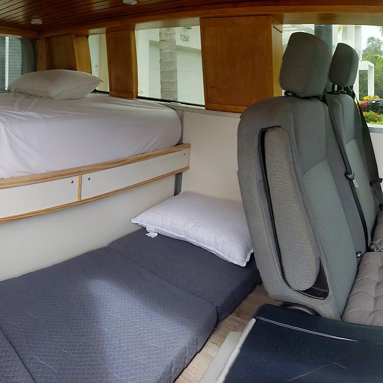 Seats 4 and Sleeps 4 comfortable