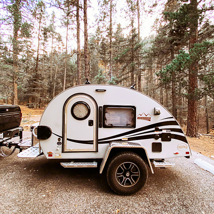 Boondocking at Black Canyon in New Mexico