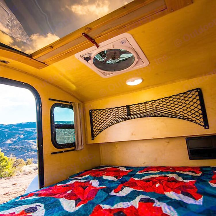 View the Stars While You Comfortably Fall Asleep