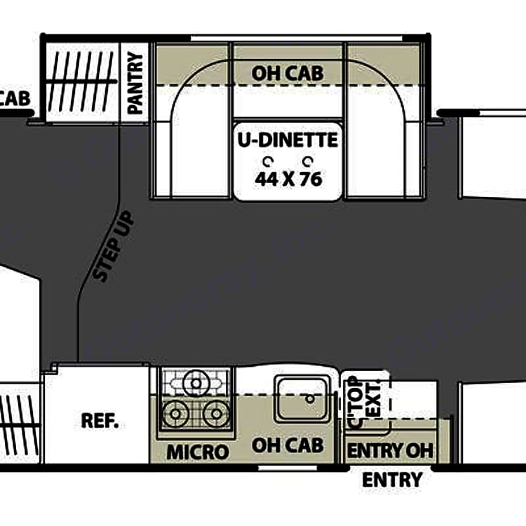 """Spacious """"open concept"""" floor plan"""