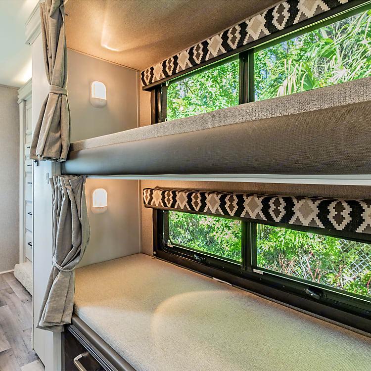 Large set of bunkbeds