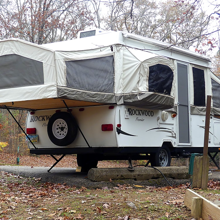 Awning Attached but Not Extended