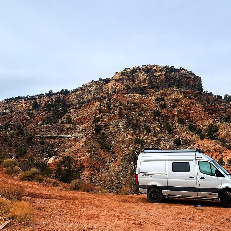 Boondocking near Bryce Canyon NP