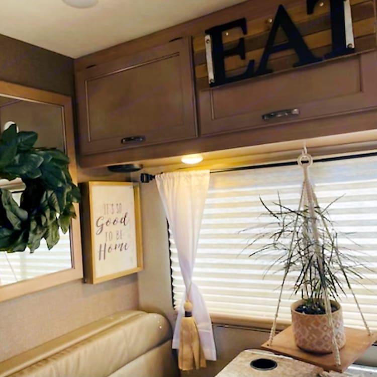 New Coach and New Interior Inviting Decor