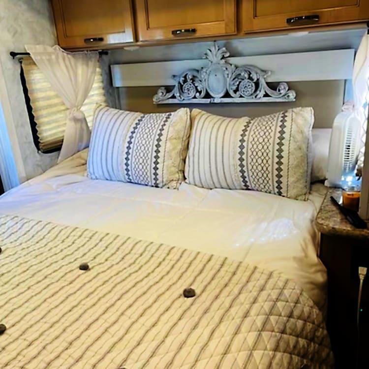 Master Bedroom with Memory Foam Mattress