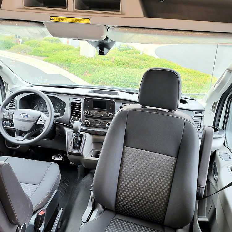 Passenger Side Swivel Seat