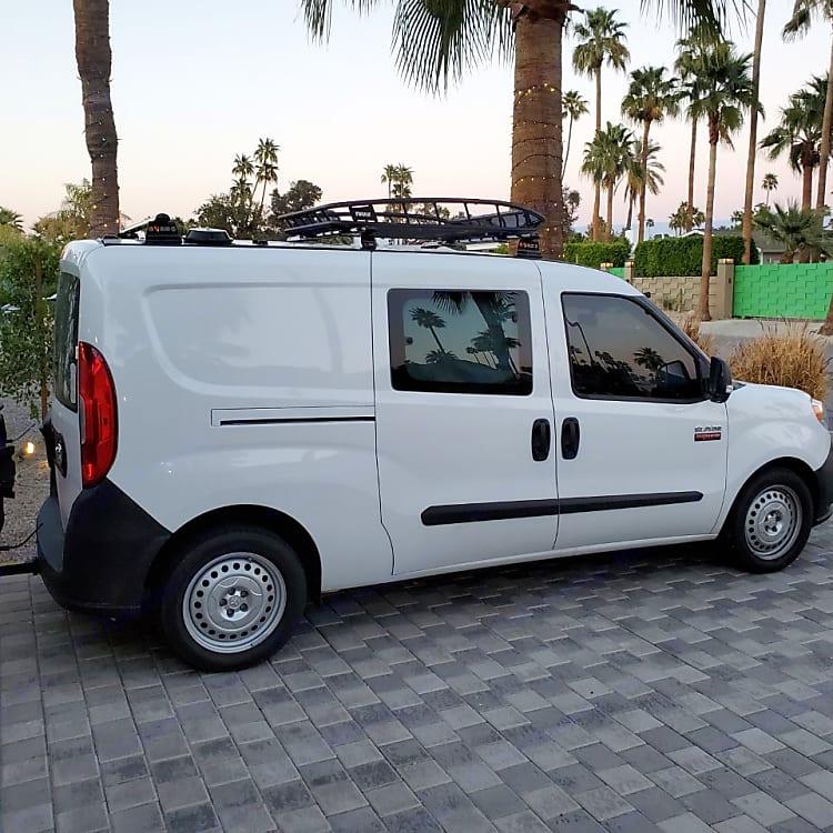 Van ready to go on her next adventure.