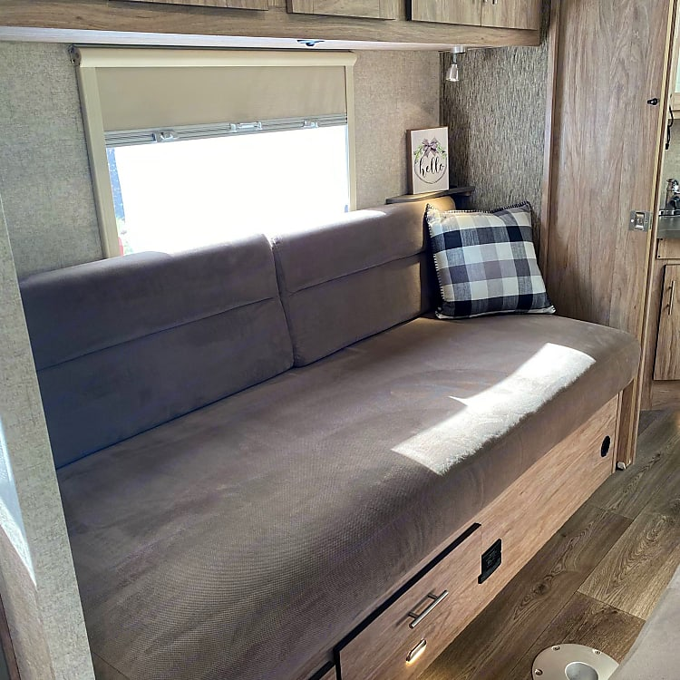 Relax on the comfortable beds