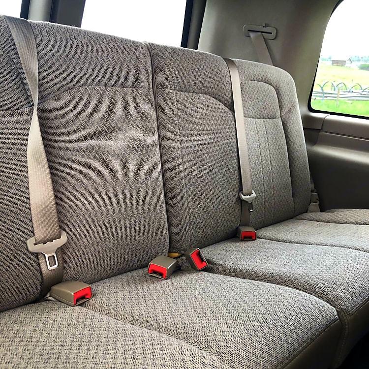 2nd row, seats 4