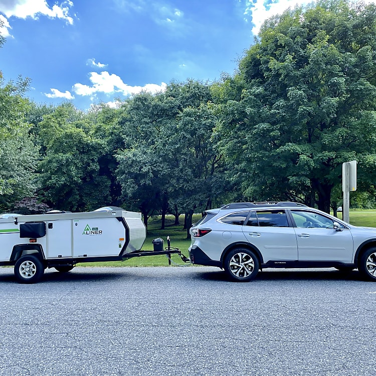 Towing in action.