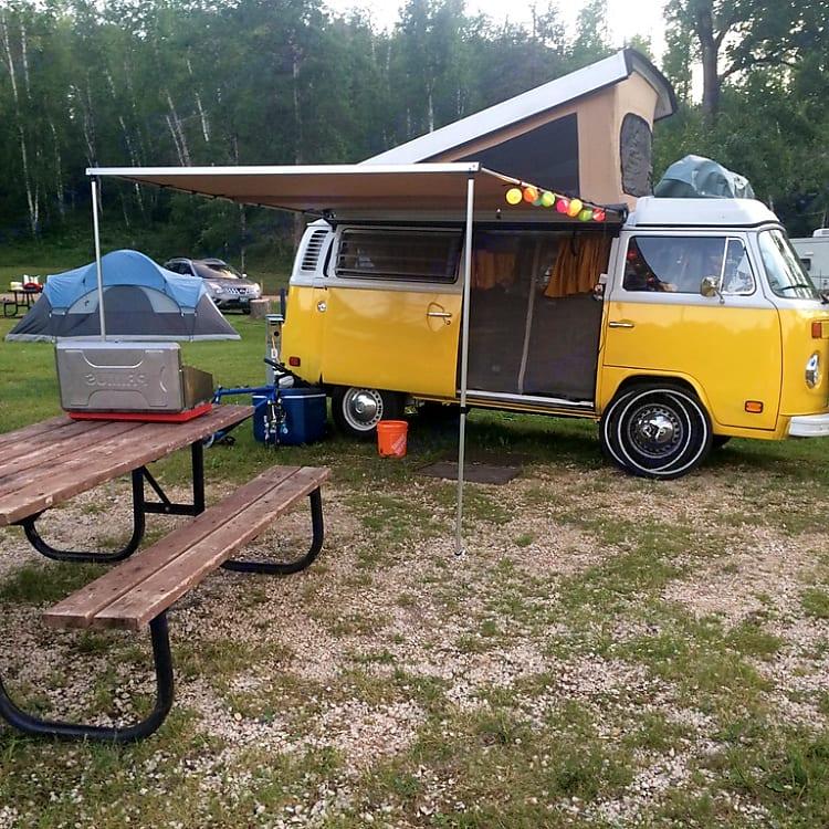 Manitoba camping