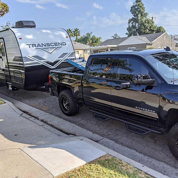 our 1st trip locally,to Santa Ana canyon RV park Great family time close by