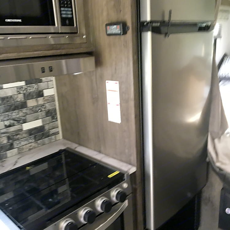 Large sized refrigerator freezer for an RV
