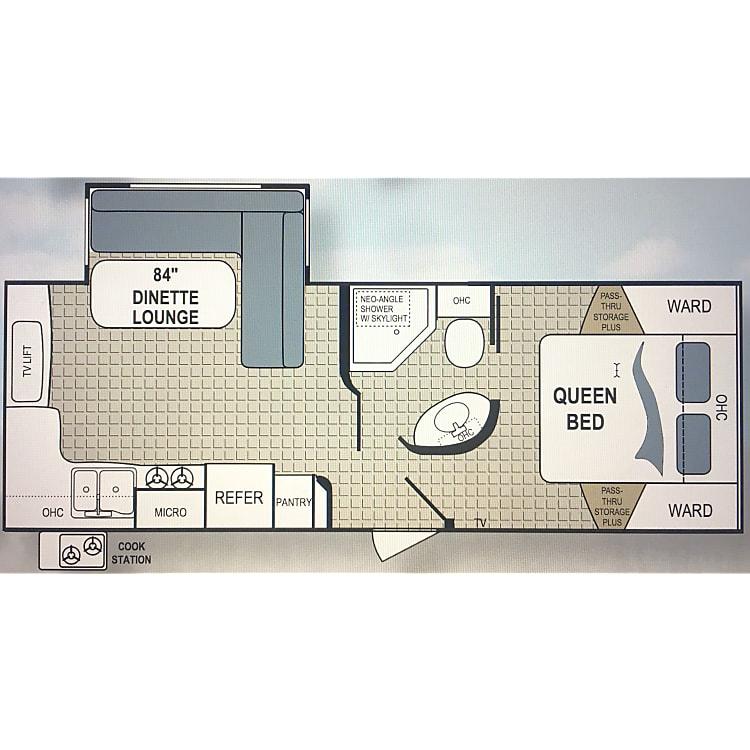 2011 Dutchmen Kodiak Floorplan