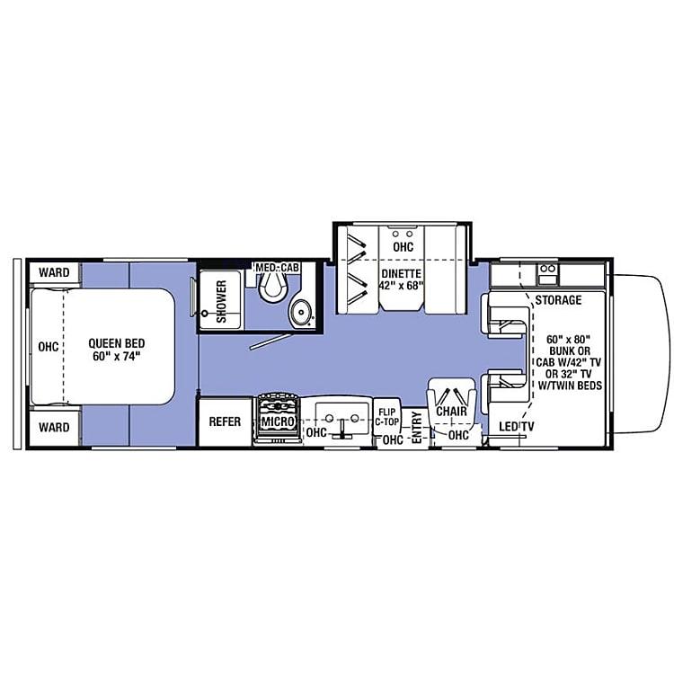 Very spacious interior