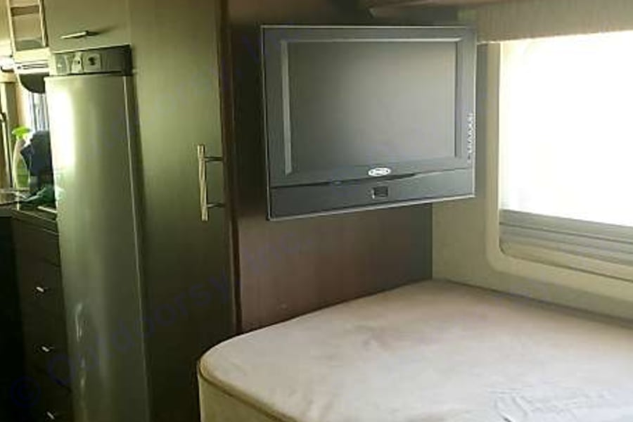 TV in back bedroom